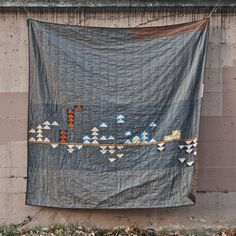 Shawna's Doe Flying Geese Quilt | Fancy Tiger Crafts