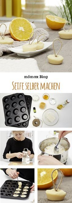 Seife mit Honig und Orange selber machen Make soap yourself! With honey and orange – just right for the cold season! Protects from dry hands after washing! Shampooing Diy, Belleza Diy, Dry Hands, Natural Cosmetics, Soap Making, Diy Beauty, Diy Gifts, Diy And Crafts, Diy Projects