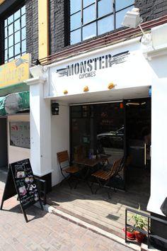 MONSTER CUPCAKES|梨泰院・龍山(ソウル)のグルメ・レストラン|韓国旅行「コネスト」