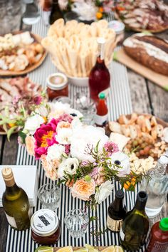 #birthday-party, #buffet, #food  Photography: Melanie Duerkopp - melanieduerkopp.com Floral Design: Natalie Bowen Designs - nataliebowendesigns.com Creative Direction: Amanda O\'Shannessy Creative - amandaocreative.com  View entire slideshow: Outdoor Parties on http://www.stylemepretty.com/collection/1766/
