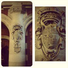 Armoiries de Toulouse, escalier Darcy du Musée des Augustins de Toulouse.