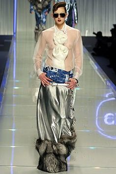 Christian Dior Fall 2004 Ready-to-Wear Fashion Show - Elise Crombez