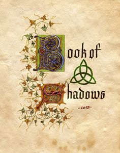 Charmed Book of Shadows.I loved watching charmed. Please check out my website Thanks.  www.photopix.co.nz