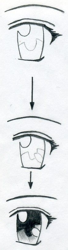 Manga Drawing Techniques Learn how to draw manga eyes in few simple and easy steps Drawing Techniques, Drawing Tips, Drawing Sketches, Drawing Ideas, Sketching, Easy Eye Drawing, Manga Drawing Tutorials, Drawing Stuff, Drawing Art