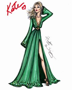 Hayden Williams Fashion Illustrations: The 'Hippy Deluxe' Look by Hayden Williams for Rimmel London
