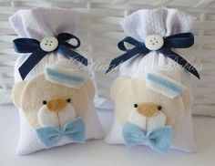 Sachê Marinheiro - Dellicatess for Babies nautical baby favors Baby Crafts, Felt Crafts, Diy And Crafts, Baby Boy Shower, Baby Shower Gifts, Baby Shower Favors, Baby Favors, Felt Decorations, Baby Shower Decorations