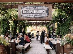 Philadelphia's Independence Beer Garden offers 40 taps,