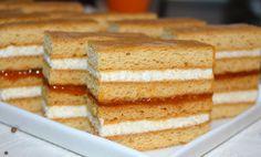 Prajitura Albinita, facuta in casa de mamele noastre, de bunicute, cu ingrediente naturale. Prajitura Albinita, are o reteta veche si clasica. Sweets Recipes, Desserts, Vanilla Cake, Gem, Good Food, Food And Drink, Cupcakes, Pies, Food Cakes