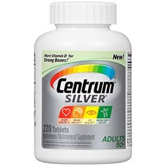 Centrum Silver Adults Multivitamin/Multimineral Supplement (220-Count Tablets) * You can get more details by clicking on the image.