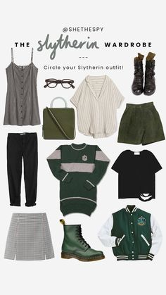 Harry Potter Style, Harry Potter Outfits, Harry Potter Fashion, Mode Instagram, Instagram Story, Instagram Fashion, Slytherin Clothes, Look Fashion, Fashion Outfits
