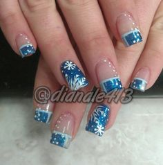 forget the candycane nails... i'm getting my nails done like this! :) ♥