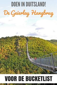 De Geierlay Hangbrug – een must-do in Duitsland – Best Europe Destinations Best Places To Travel, Places To See, Eifel Germany, Hiking Europe, Europe Destinations, Travel Alone, Travel Goals, European Travel, Germany Travel