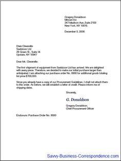 proper formal letter format