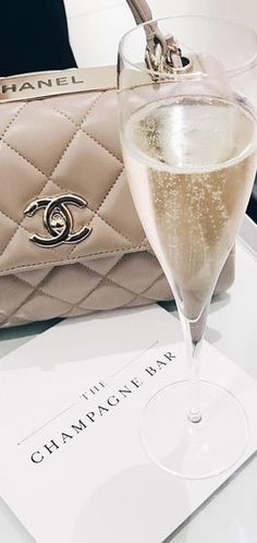 Champagne and Chanel!