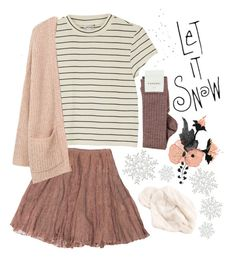 MERRY CHRISTMAS! by its-science-fitz on Polyvore featuring polyvore fashion style Monki MANGO Rodarte clothing