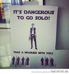 Always good to have a wookie on your side!