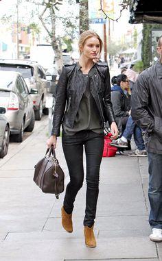 el look de street style de rosie huntington-whiteley