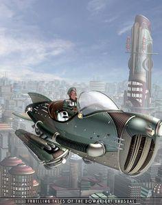 Картинки по запросу retro futuristic rocket