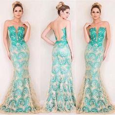 Não cansamos de olhar esse lindo vestido da @camilasiqueiraoficial que está…