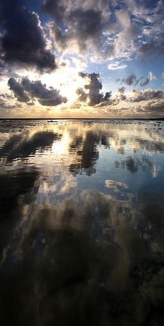 Reflected Dreams - Goring Beach, Worthing, West Sussex