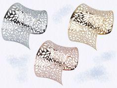 Bracelets of fine stainless steel