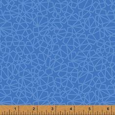 125   Небесная - Геометрическая звезда (Лт синий)