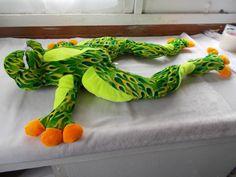 "Toy Factory Big Plush Frog 30"" Stuffed Animal #ToyFactory"