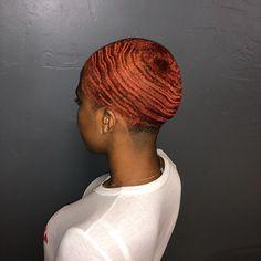 Black Girl Hair Cuts, Girl Short Hair, Short Hair Cuts, Short Hair Styles, Low Haircuts, Short Natural Haircuts, Hairstyles Haircuts, Sassy Hair, Edgy Hair
