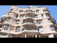 Travel Spain - Visiting La Pedrera in Barcelona