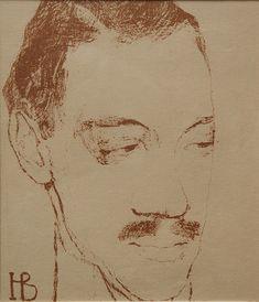 Надежда Войтинская. Портрет Николая Гумилёва, 1909