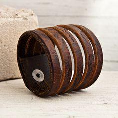 SALE Leather Jewelry Strap Bracelets for Women by rainwheel
