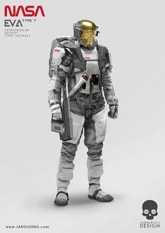 NASA - Tactical EVA Suit, jarold Sng