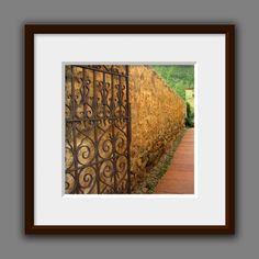 Old Iron Gate Old World Style Photo Art by JulieMagersSoulen Orange Wall Art, Orange Walls, Country Living, Country Decor, Old World Style, Countries Of The World, European Fashion, Fashion Photo, Photo Art