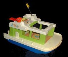Model house boats