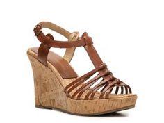 DSW - Audrey Brooke Caress Wedge Sandal - $30
