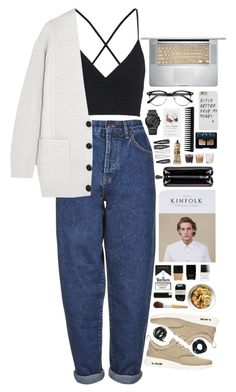 """Finals"" by stephrimonti ❤ liked on Polyvore featuring Boutique, Topshop, Proenza Schouler, NIKE, H&M, Forever 21, GHD, Bottega Veneta, Aesop and Butter London"