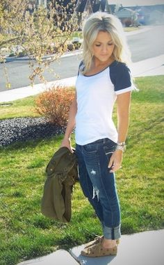 love this comfy and casual look!