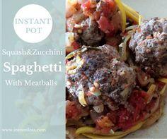 instantloss.com Instant Pot Spaghetti and Meatballs
