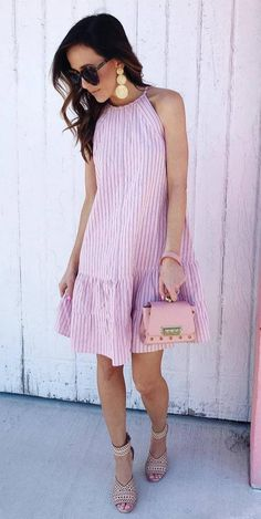 24 Cute Spring Street Style Outfits To Copy Spring Dresses, Spring Outfits, Spring Clothes, Simple Dresses, Cute Dresses, Awesome Dresses, Flower Dresses, Long Dresses, Maxi Dresses