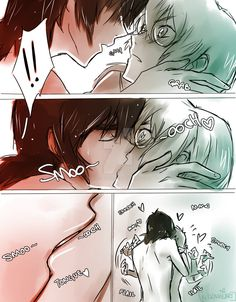 Love Potion Comic- Keith's romantic kiss with Pidge from Voltron Legendary Defender