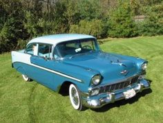 1956 Chevy Bel-Air my favorite car!  Another car my dad would truly love!  He's a Chevy man, through and through.
