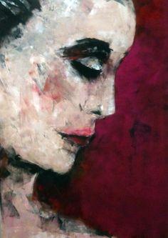 artist: Barbara von Tannenberg 80x100 cm acrylic on canvas