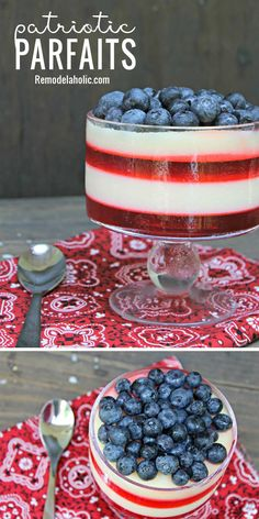 Bring a gorgeous dessert to your fourth of july picnic with Blue Desserts, 4th Of July Desserts, Fourth Of July Decor, 4th Of July Celebration, Chocolate Desserts, Easy Desserts, Delicious Desserts, Dessert Recipes, July 4th