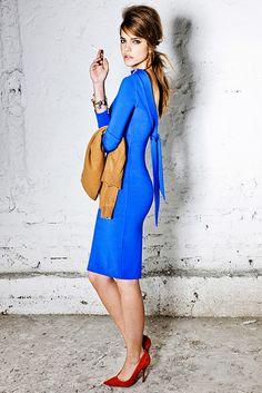 DSquared - Mod dress w/modern back. Gorgeous color.