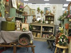 Best Antique Booth | One of the best things about OVAM is how well our dealers decorate ...