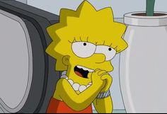 Mood Wallpaper, Cute Wallpaper Backgrounds, Cartoon Wallpaper, Cute Wallpapers, Lisa Simpson, Simpson Wave, Cartoon Profile Pictures, Cartoon Pics, Cartoon Characters