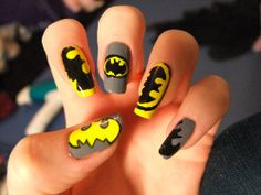 batman nails..... where can I find a nail salon to do this for me... ASAP.