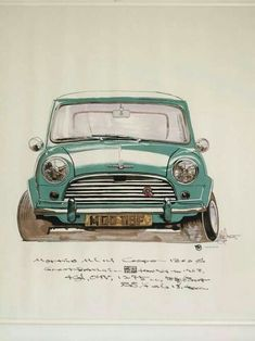 Mini, I have a strong opinion that it is one of the best and revolutional cars ever made