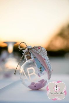 Bonbonniere Ideas, Wedding Favors, Wedding Reception, Baby Christening, Event Decor, Christmas Bulbs, Baby Shoes, Baptisms, Entertaining