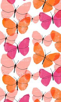butterflies pattern by alannah cavanagh